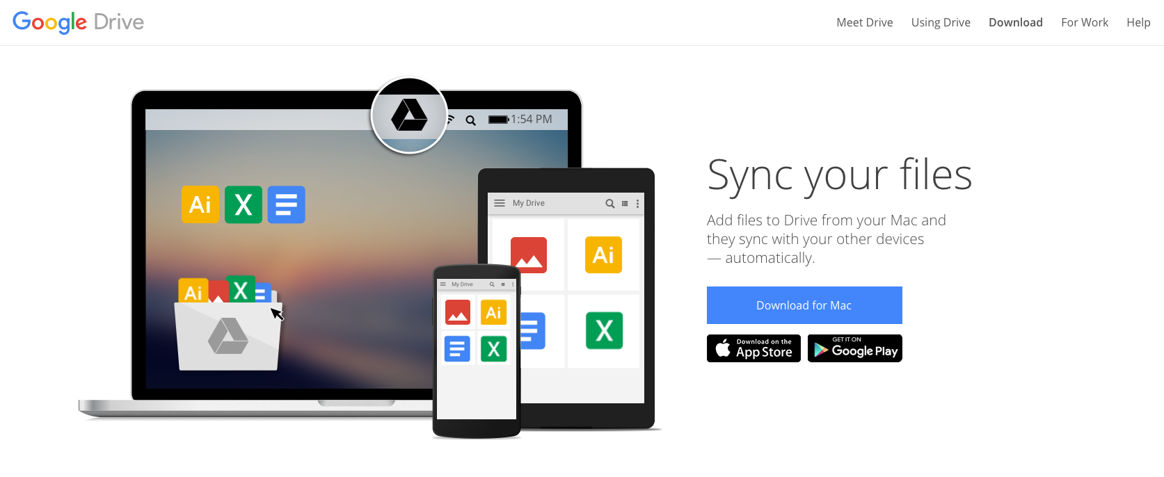 Download The Google Drive Sync Client