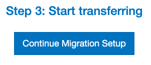 How to create a new migration