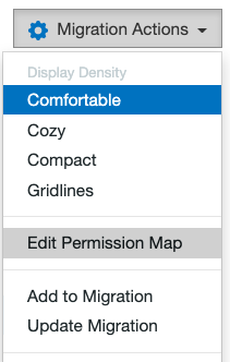 Edit Permission Map button