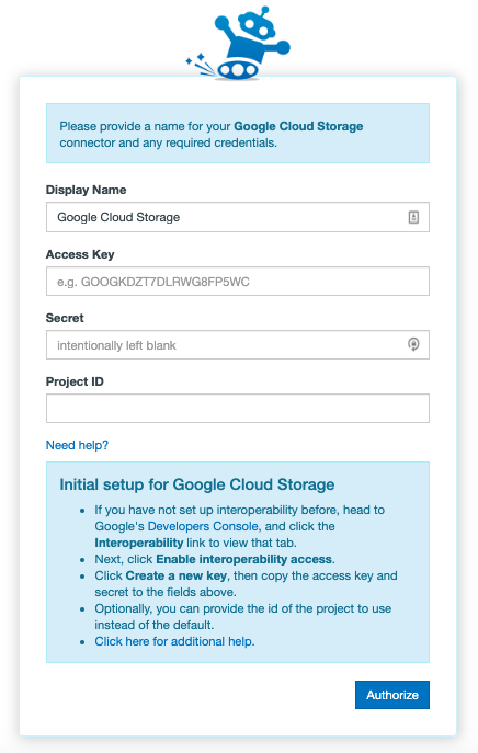 Google Cloud Name Connector