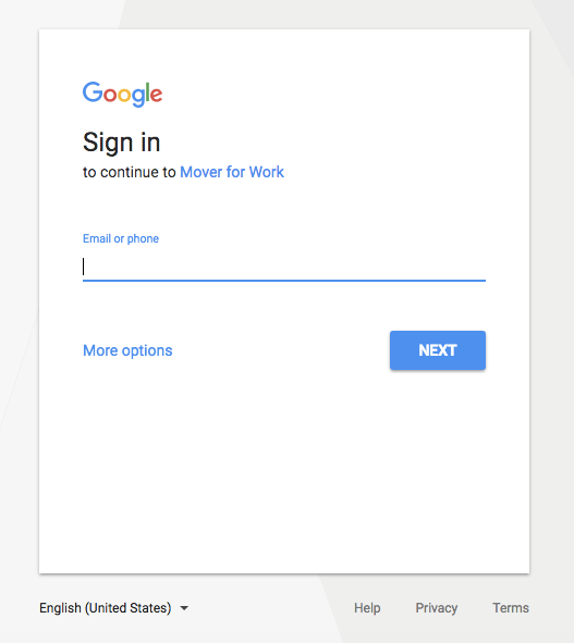 G Suite Login Access