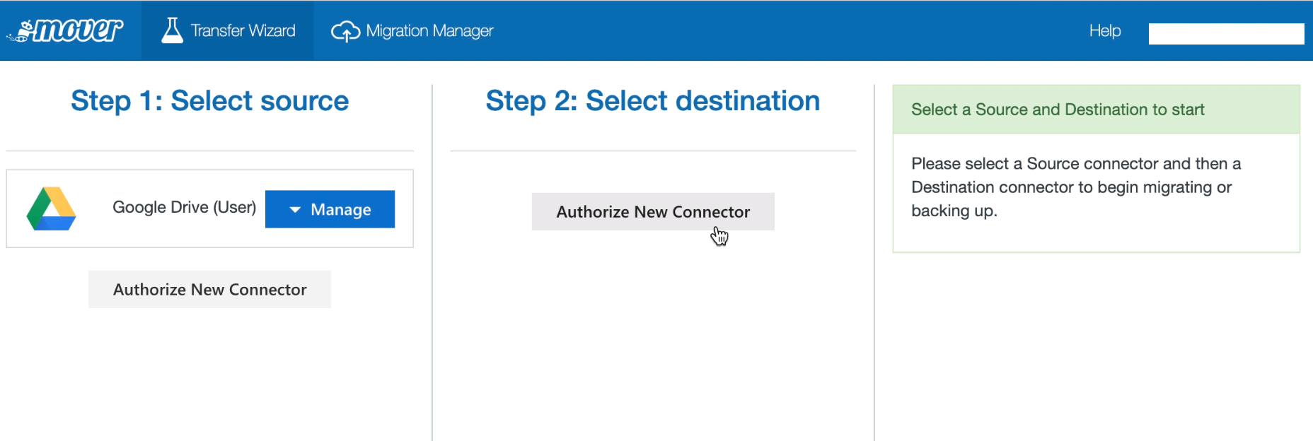Authorize New Connector